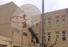 Reparació de les canastes de bàsquet