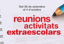 reunions extraescolars
