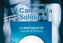 VI Caminada Solidària per la Marató 2017